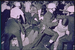 Chicago police engage protesters in the famous 1968 ordeal