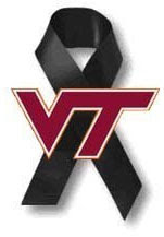 Virginia Tech students massacred yesterday by Cho are being observed on the Internet with this symbol