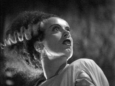 I feel like a jerky Bride of Frankenstein, nervous about getting this link love thing done right... I'm like a virgin...  I said LIKE!