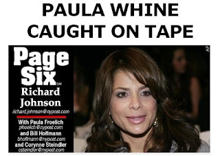 Paula Abdul, a judge on American Idol, was caught on tape sobbing and whining because her publicist quit her for too much sobbing and whining