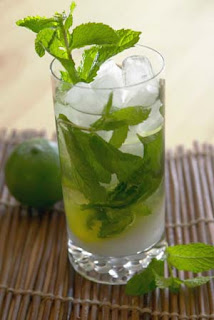 I first learned the word 'mojito' in Paris.  Mojito is the name of a super-cool dance club we partied at in the sleezy Pigalle section of Paris.  What fun!  Since then, the mojito cocktail has become one of my 'absolut' favorite drinks