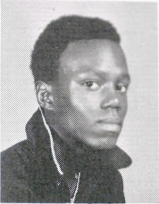 Bernie Mac photo as a student at Vocational High School on the South Side of Chicago