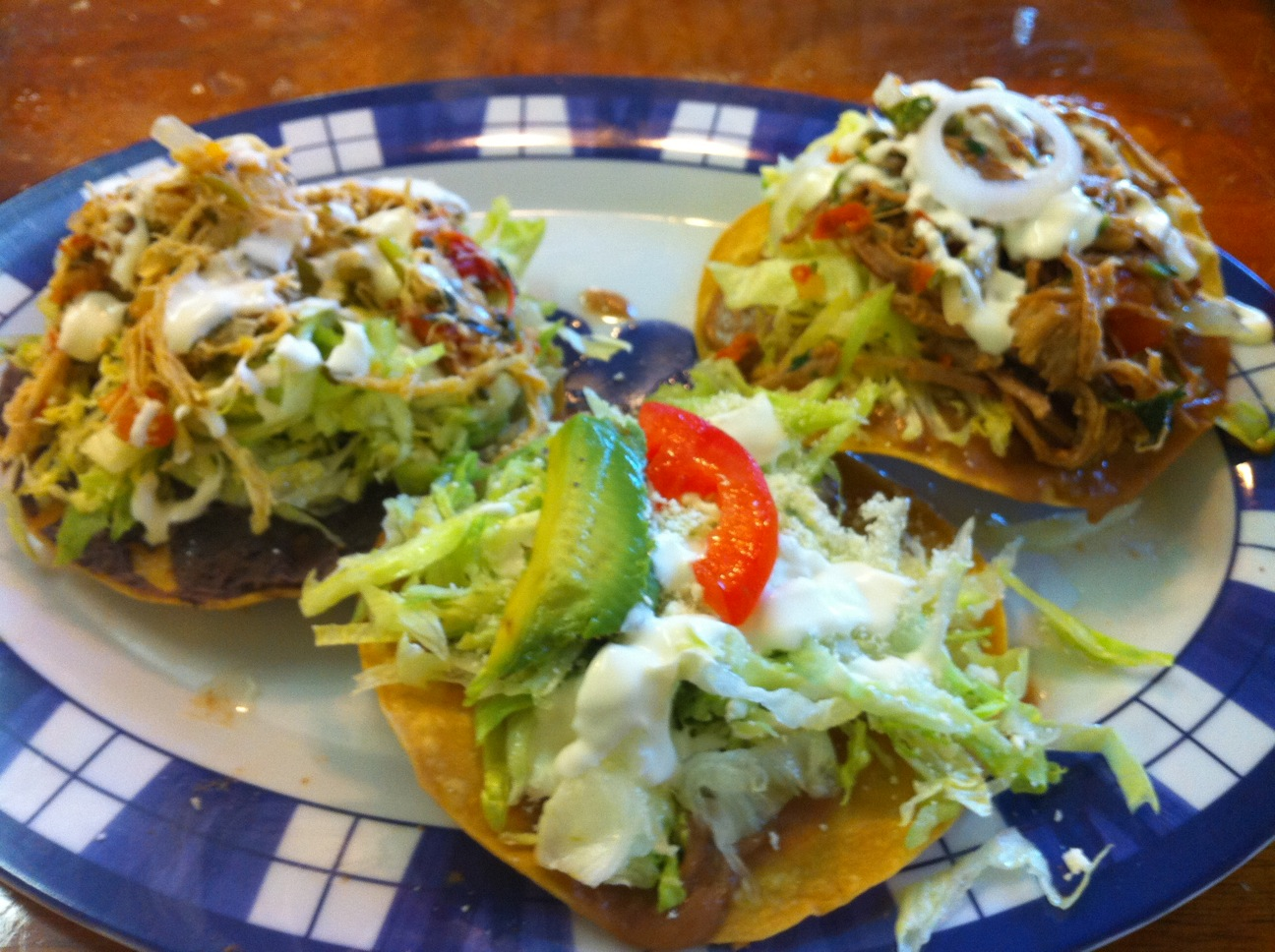 Mexican Tostada Recipe — Dishmaps