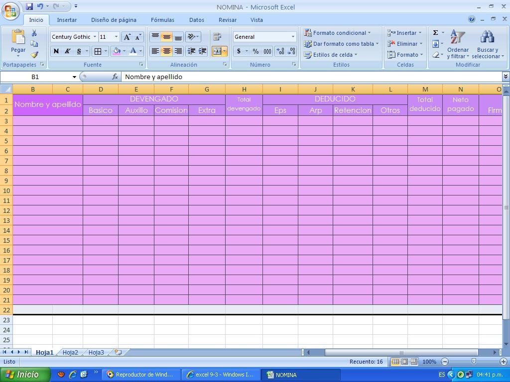 Excel Kayu