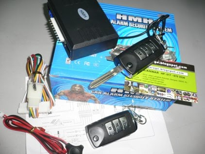 Alarm with key inside (proton)