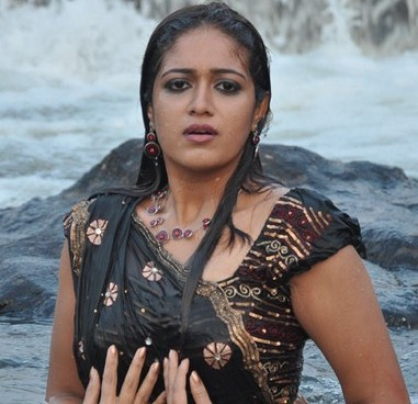 Meghana Raj Hot Saree