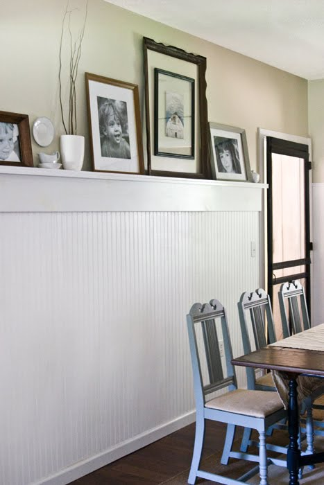Decorating a Kitchen Wall Window Frames