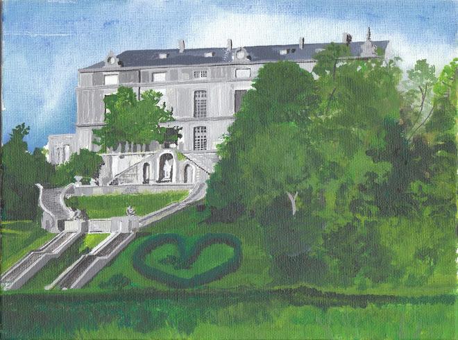 Chateau au parc oriental