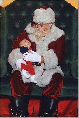 Liam and Santa
