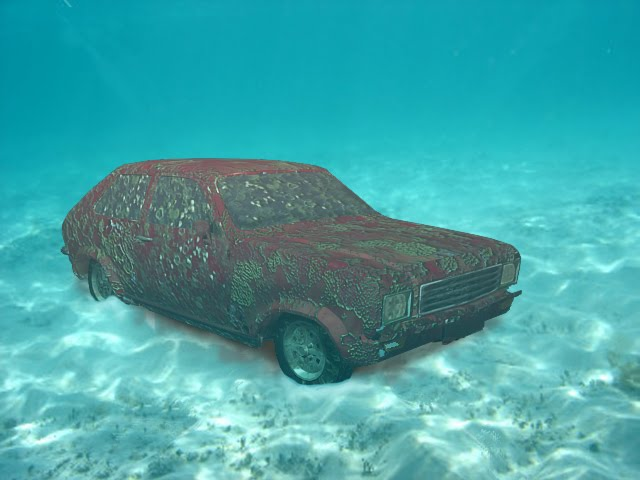 Sunken Cars Sunken car