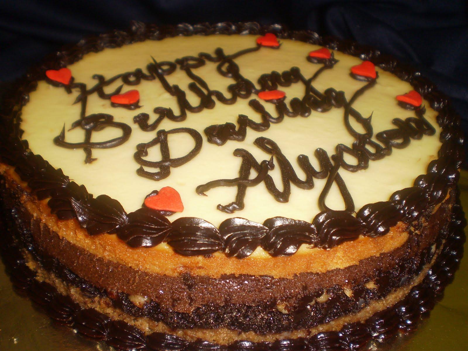 Craving Cakes With Noni Birthday Choco Paradise Cheesecake Happy