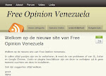 Free Opinion Venezuela (Página Web en Holandés / Website in het Nederlands)