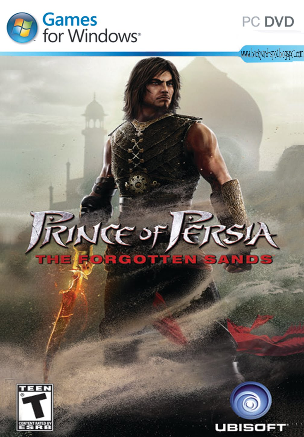 The Backyard Spot: Prince of Persia : Forgotten Sands ISO ...