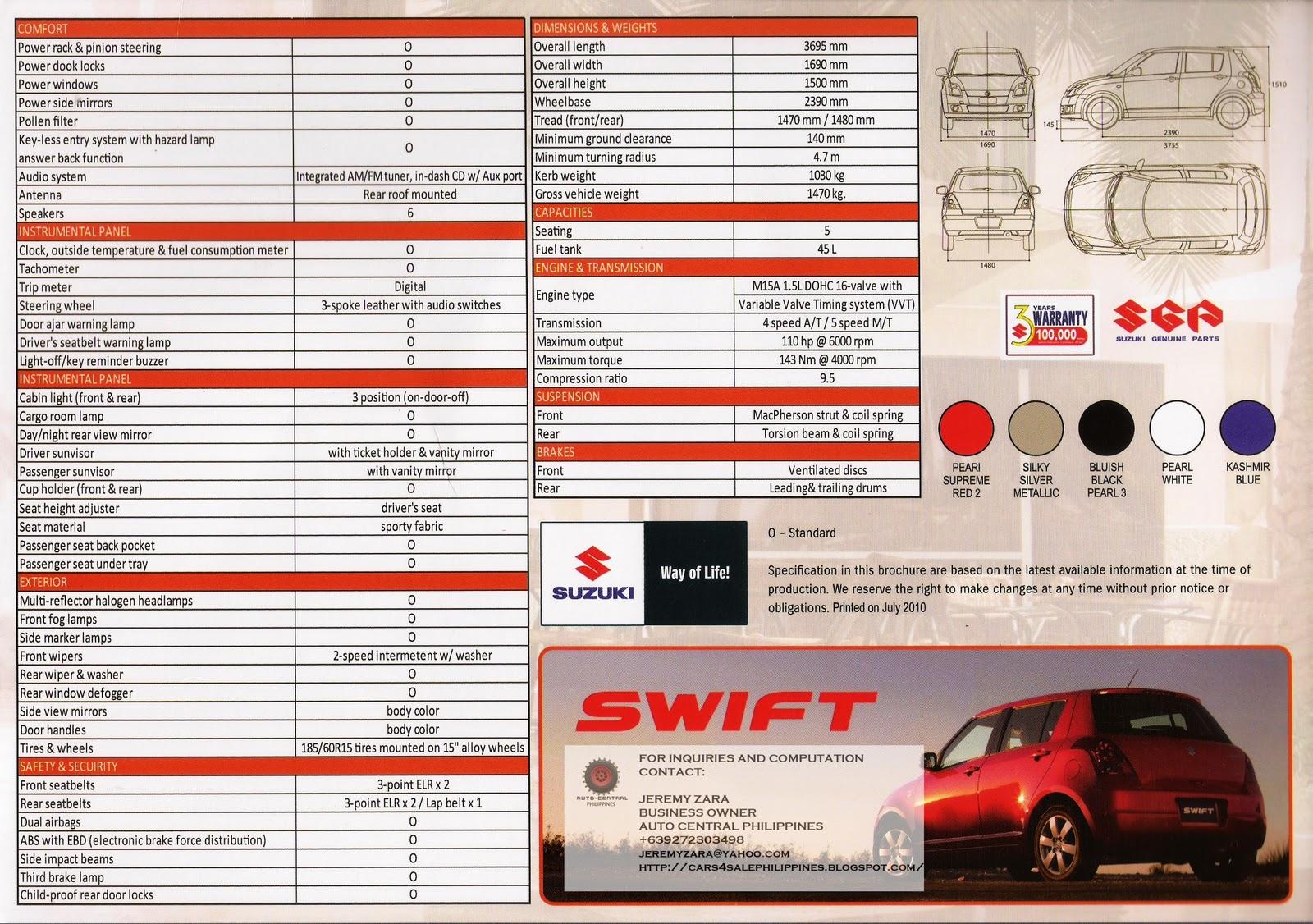 Brand New Cars For Sale Brand New Suzuki Swift For Sale