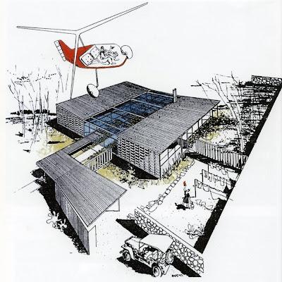 Kcmodern case study house no 4 greenbelt house by architect ralph rapson - Case study small apartment ...