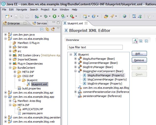 Websphere community blog rad tooling for osgi applications malvernweather Gallery
