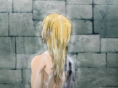 Edward Elric Shower Scene Full Metal Alchemist