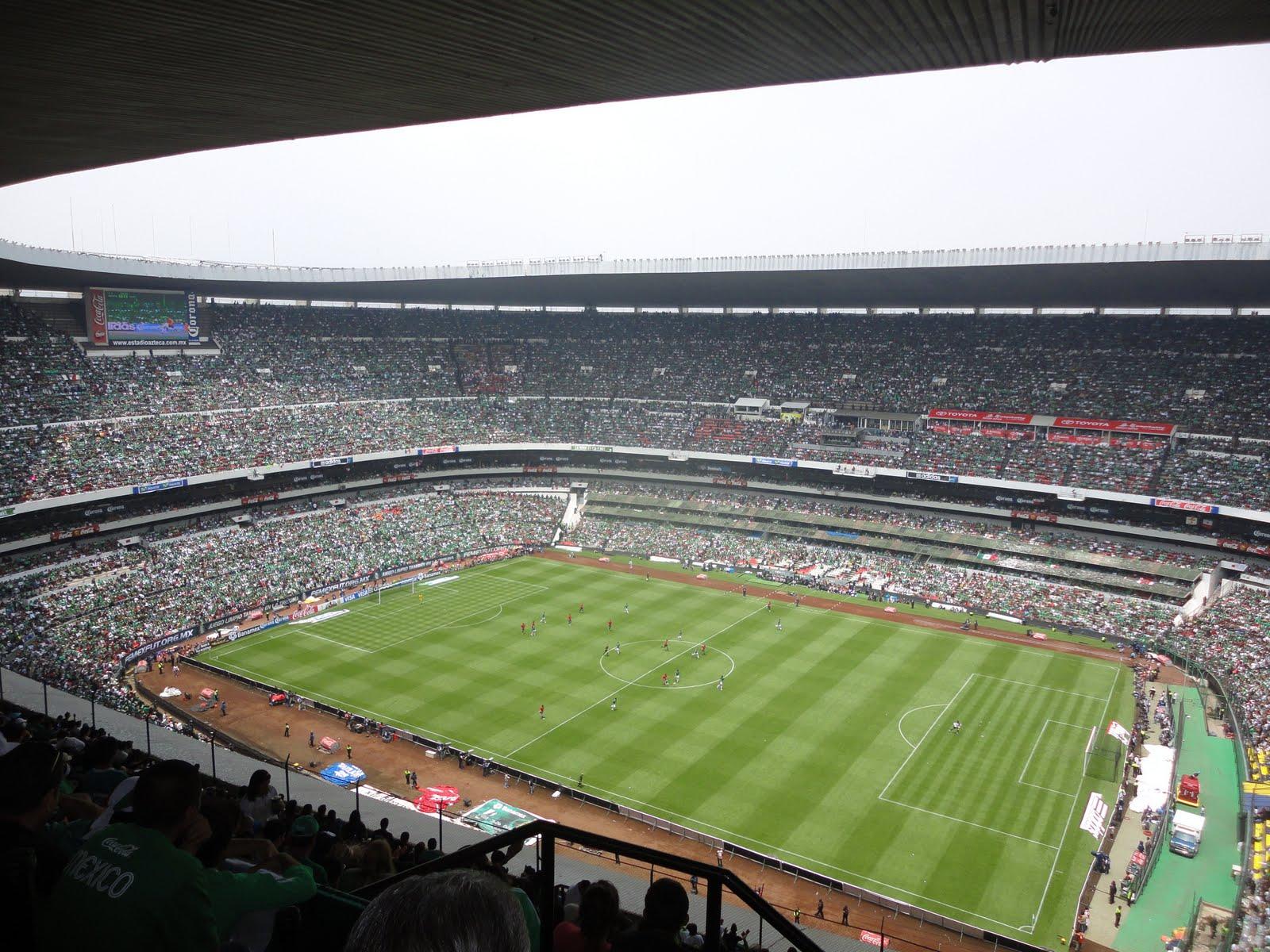 M xico estadio azteca for Puerta 1 estadio azteca