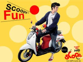 Modifikasi Honda Scoopy Injection Thailand 2010