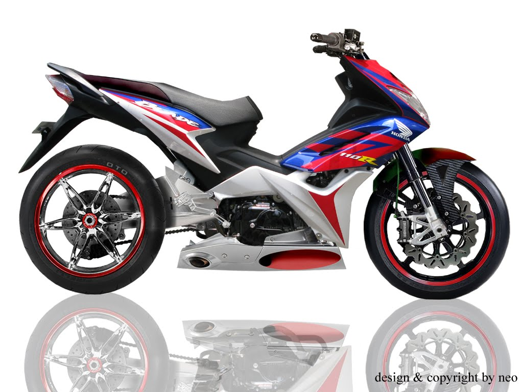 Picture of Honda Blade Modifikasi