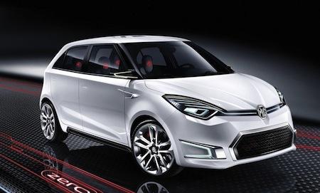 2011 MG ZERO concept Picture