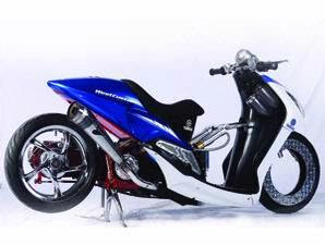 modifikasi motor Yamaha mio soul