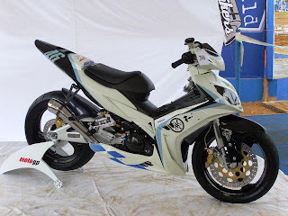 Modifikasi Yamaha jupiter mx 135 cc