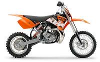 Gambar Modifikasi motor ktm 150 sx