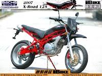 Gambar Modifikasi Motor Minerva X-road 150 R