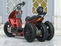 Motor Honda vario Matic techno 2009