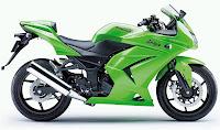 Gambar Modifikasi motor kawasaki ninja 250 RR
