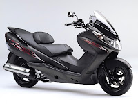 New Matic Scooter Kawasaki Epsilon pictures