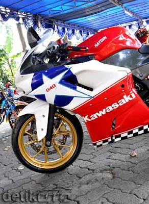 Kawasaki Ninja 250 cc Modify Photos