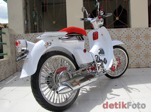 Modifikasi Jupiter Mx Hijau 2009