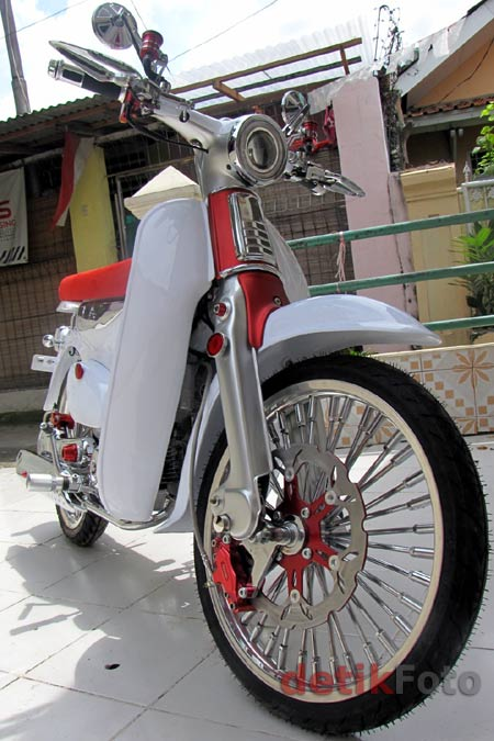 Picture Honda C70 Modifikasi