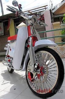 Modifikasi Honda C70 1972
