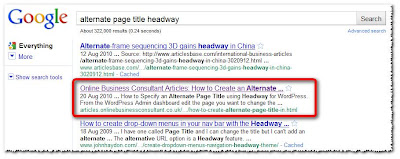 How to get on Page 1 of Google in 10 Minutes with SEO