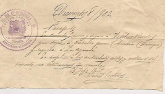 """Un """"Salvaconducto"""" para tío Teodoro, que para 1902 tenía 18 años de edad:"""