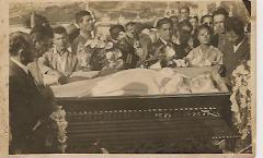 En el Cementerio de Capacho-Libertad en el año 1945: