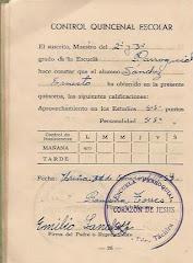"""En 1950 nos mudamos para UREÑA. Motivo: la Escuela de """"La Laguna"""" quedaba muy lejos."""