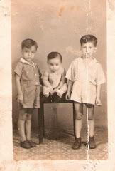 """Aquí el """"Autor"""" tenía seis (6) meses; foto tomada en mi primera visita a San José de Cúcuta:"""
