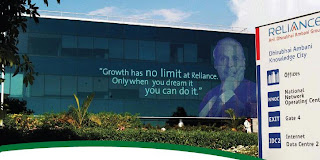 """Growth has no limit at Reliance Only when you dream it you can do it."""