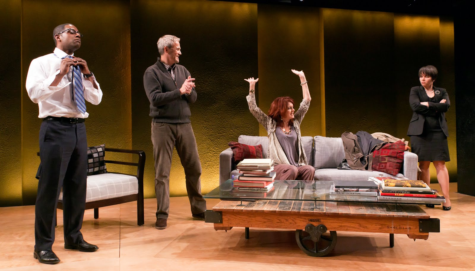 god of carnage review I'll admit: my first reaction to the news that stark naked theatre company had inserted french playwright yasmina reza's god of carnage int.