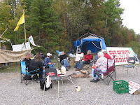 Sharbot Lake protest heats up