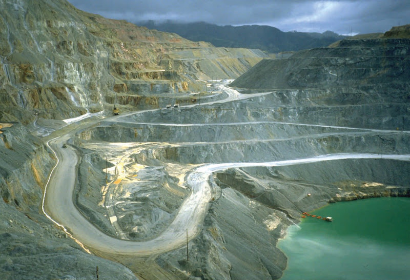 Barrick Gold mine