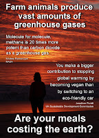 Methane produced by factory farming: a good argument for becoming a vegan