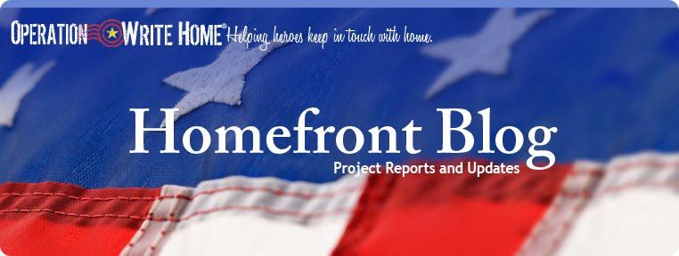 Homefront Blog