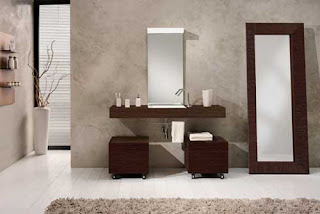 Bathroom Interior Design Wallpaper
