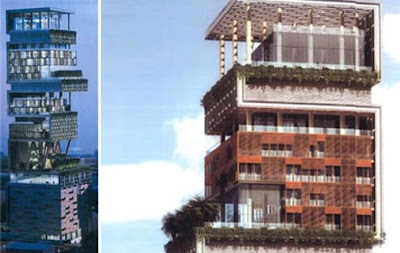 ukesh Ambani antilla House Wallpaper