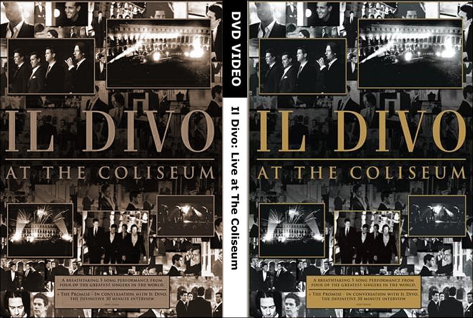Mi cine ill divo at the coliseum - Il divo at the coliseum ...